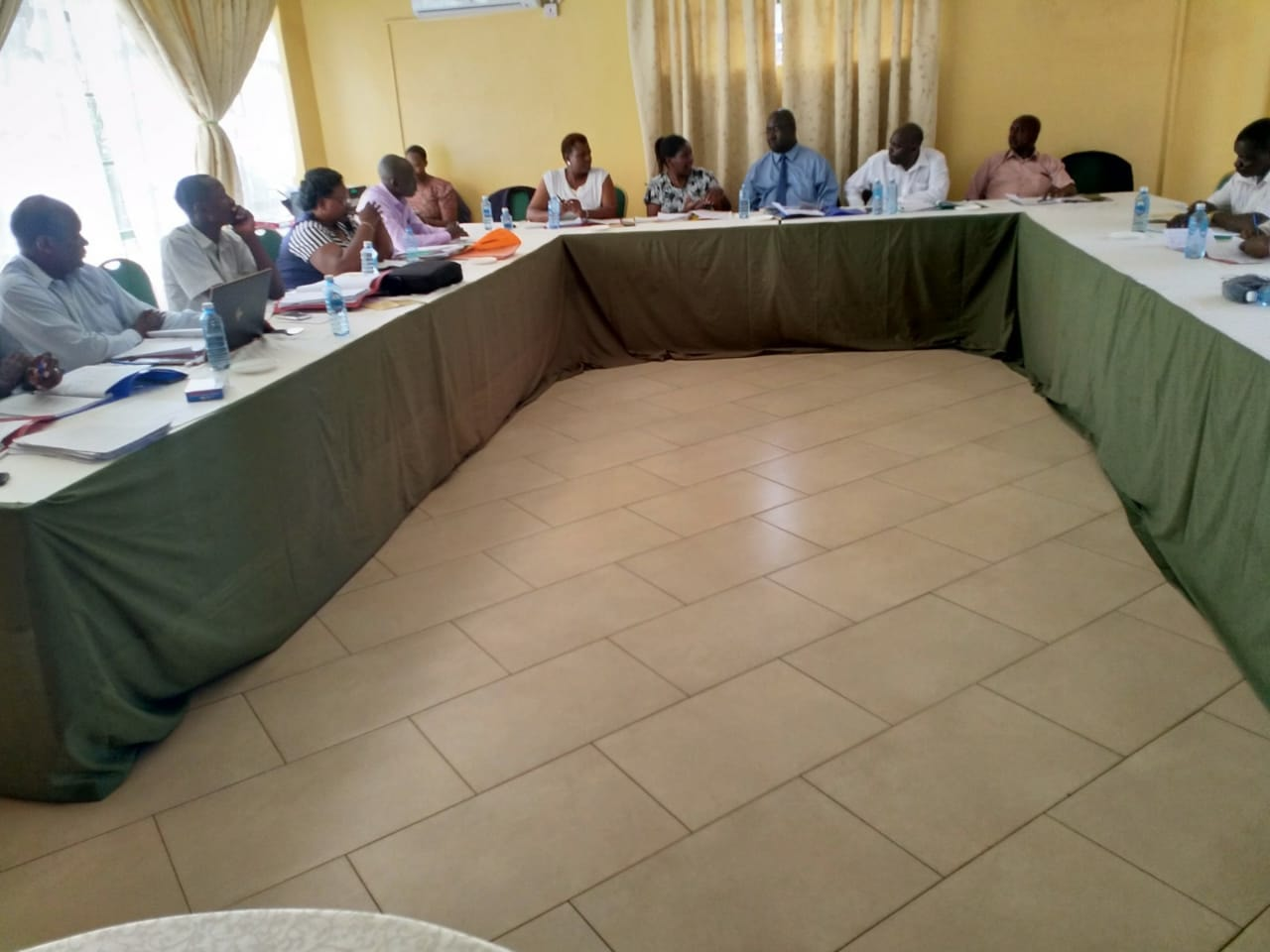 CEC for Agriculture  chaired a meeting in Kisumu for NARIGP(National Agriculture and Rural inclusive Growth project.