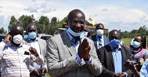 Laudable efforts as Bungoma County commences compulsory screening for COVID-19 at entry points – Governor Wangamati is in the frontline in this war