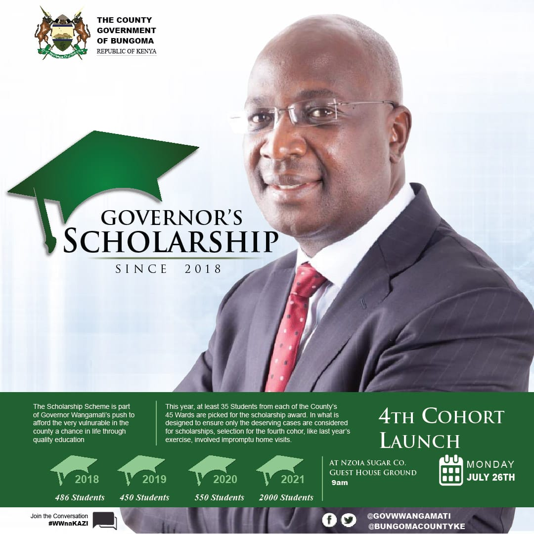 Governor's Scholarship Programme Official Launch