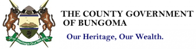 The County Government of Bungoma. Our Heritage, Our Wealth Logo